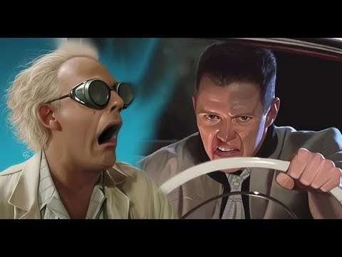 Christopher Lloyd & Tom Wilson talk about almost being FIRED from Back to the Future