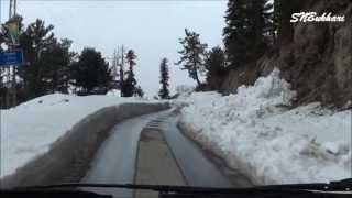 Winter Tour 2013 (11)  Through the snow: Murree to Changla Gali