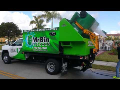 Trash Bin Cleaning Service - Mr. Bin Cleaner