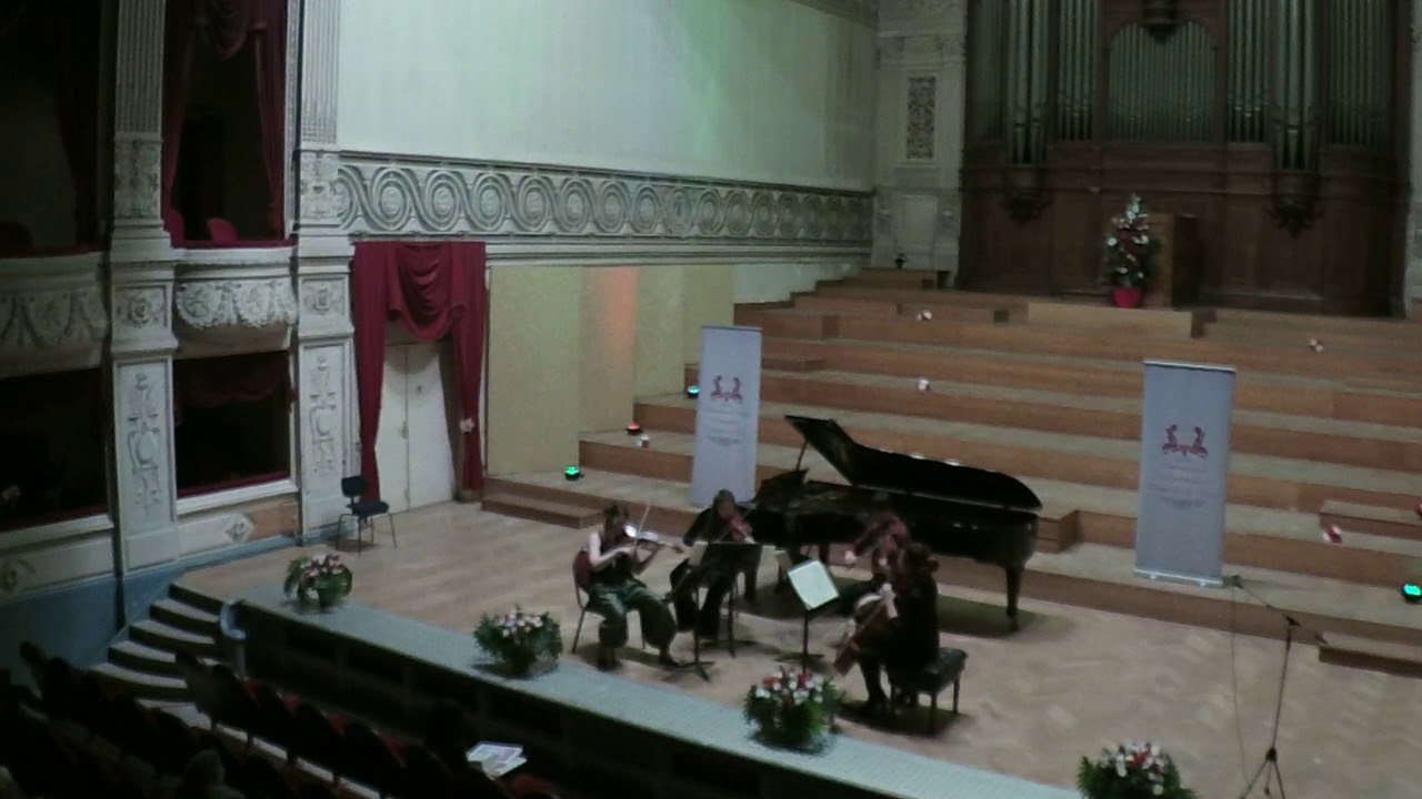 Karski Quartet , C. Debussy String Quartet op 10 in G minor, 4 mvm Très modéré–En animant peu à pe