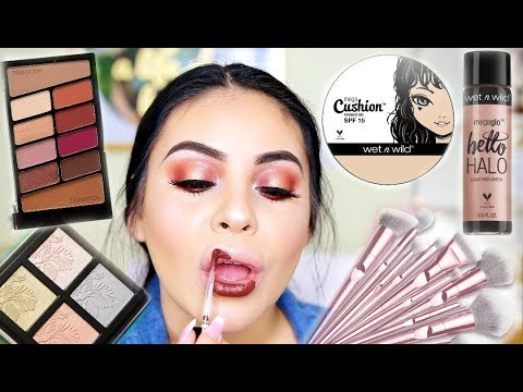 TRYING NEW WET & WILD MAKEUP