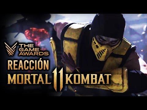 ¡MORTAL KOMBAT 11 es BESTIAL! Reacciones TGA #1: MK11, Joker de Persona 5 en Smash y SONICFOX