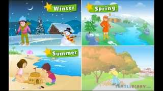 Learn  all about the four seasons at wwwturtlediarycom
