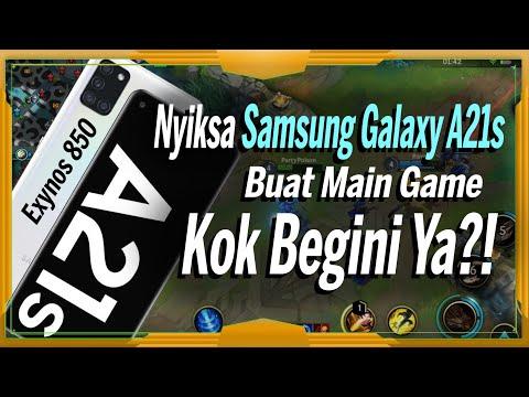 GAMING TEST SAMSUNG GALAXY A21S - League of Legends: Wild Rift & PUBG
