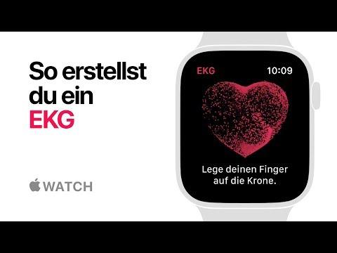 AppleWatch Series4 – So erstellst du ein EKG – Apple