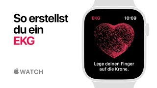 Apple Watch Series 4 – So erstellst du ein EKG – Apple