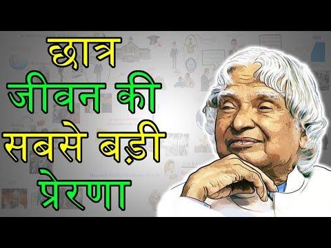 छात्र जीवन की सबसे बड़ी प्रेरणा   APJ Abdul Kalam Biography in Hindi