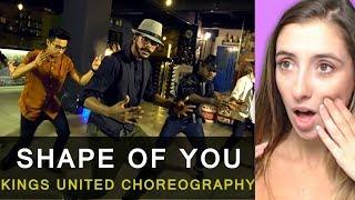 Ed Sheeran - Shape of You | Kings United | Hip Hop Dance Choreography Reaction