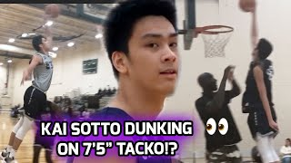"7'2"" Filipino Phenom Kai Sotto Dominates Basketball Without Borders Camp! Works Out With NBA Stars 🤩"
