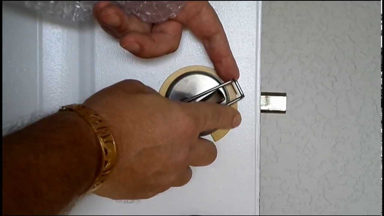 how to install the deadbolt guard youtube