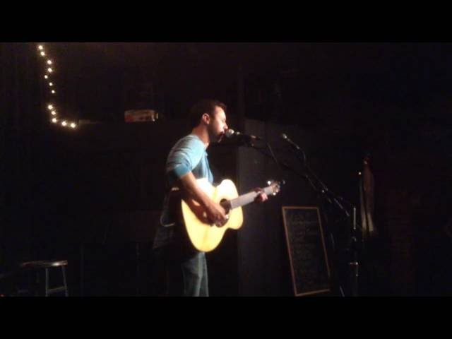 Performing an original at IOTA Club in Arlington, VA