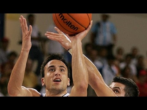Argentina vs Serbia & Montenegro 2004 Athens Olympics Basketball Group Match FULL GAME