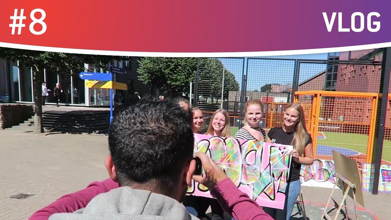 Dag 1 Koning Willem 1 College School Vlog 8 Jassins