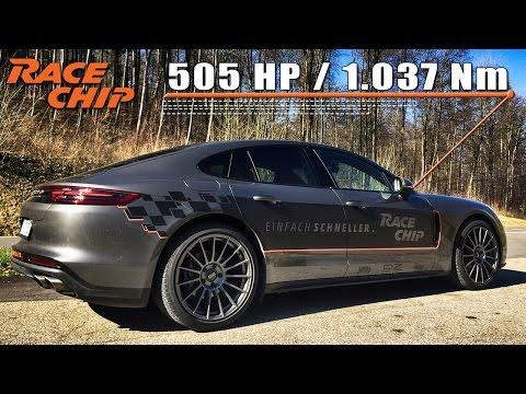 Porsche Panamera 4S Diesel 2017 Review 505 HP RaceChip by AutoTopNL