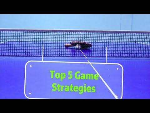 Top 5 Table Tennis Game Strategies In General