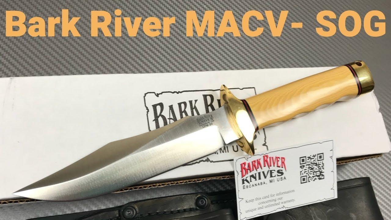 Bark River MACV-SOG Knife Bark River does this Battle Blade Proud !!!