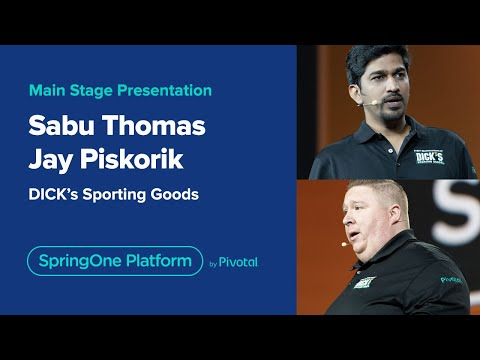 SpringOne Platform 2019 - Day 3 Keynote: Judy Wang and Jay Piskorik and Sabu Thomas