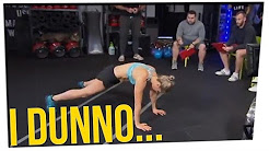 Woman's Burpee Record Creates Controversy ft. Tim DeLaGhetto & DavidSoComedy