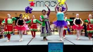 Diya performing at Mentor kids show.  Fusion dance