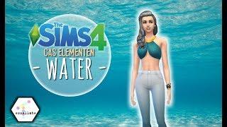 ≈ WATER ≈ - De Elementen Maken    Sims 4: Creëer-een-Sim (Nederlands)