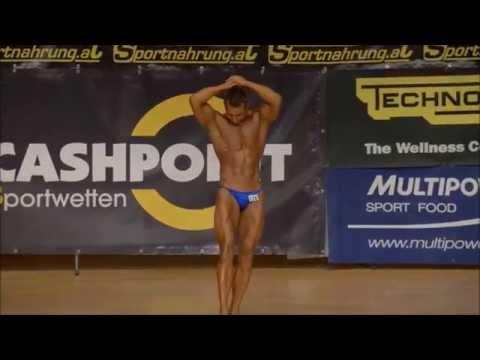 Christian Baumgartner, NABBA/WFF Austrian Championships 2014