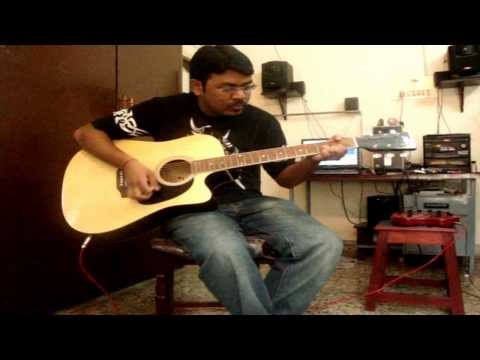 Adiye kolluthey guitar cover