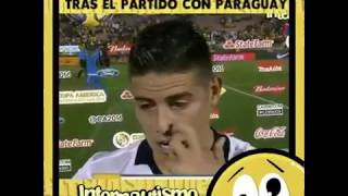 Download Entrevista a James (pirobo de zidane XD)...  Excelente jugador