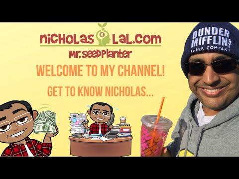Meet Nicholas Lal Aka Mr. Seed Planter
