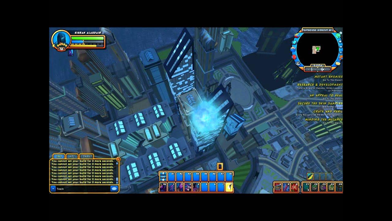 Chernabog flying | champions online screenshot | ogrebear | flickr.
