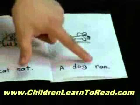 Helping Your Child Learn to Read - 4 to 6 years old - YouTube