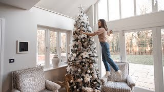 EXTRA AF CHRISTMAS DECOR AND TREE REVEAL | CHRISTMAS WITH THE MILLEN-GORDONS DAY1
