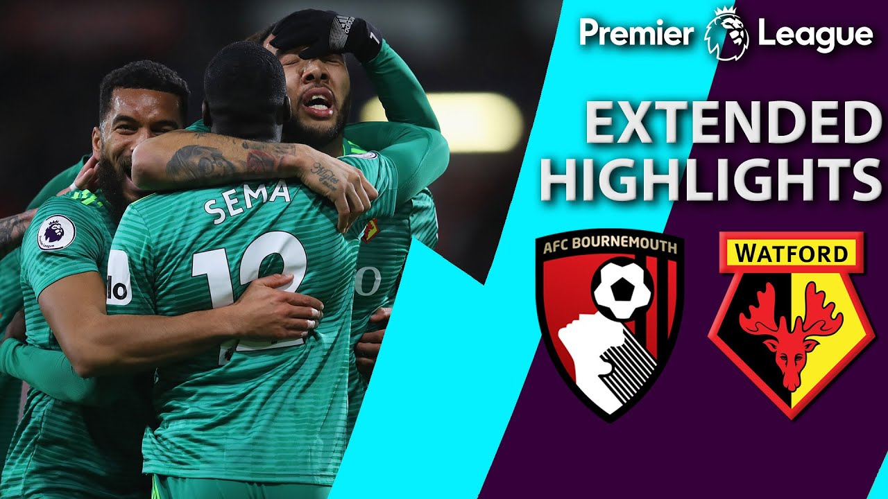 Bournemouth v. Watford | PREMIER LEAGUE EXTENDED HIGHLIGHTS | 1/2/19 | NBC Sports