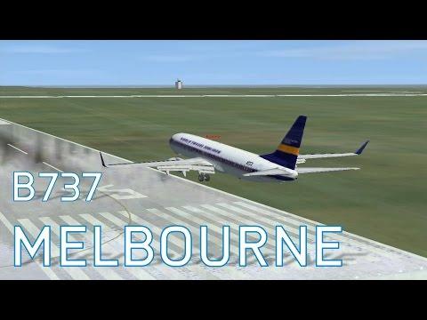 FSX World Travel 737-800 at Melbourne | Landings | Series 4 Episode 2