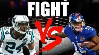 Josh Norman vs Odell Beckham Jr. FIGHT!
