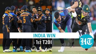 India Vs Aus 1st T20: KL Rahul, Natarajan & Chahal lead visitors to 11 run win