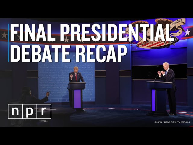 Final Presidential Debate Recap