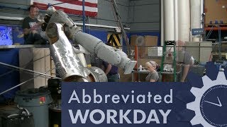 Repainting Justin the Robot: Abbreviated Workday #54