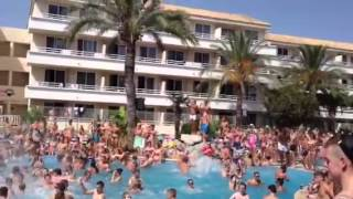 Mallorca Rocks Pool Party Magaluf 2013