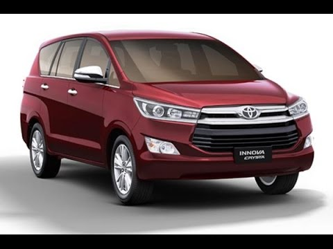 all new toyota innova crysta 2016 interior and exterior with full specification youtube. Black Bedroom Furniture Sets. Home Design Ideas