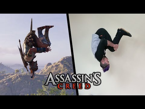 Stunts From Assassins Creed Odyssey In Real Life (How to, Parkour)