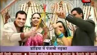 GiNa doing garba with Rupal  in punjabi style.mp4