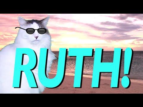 Happy Birthday Ruth Epic Cat Happy Birthday Song Youtube