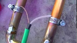 Building And Tuning 2 Meter 144 Mhz Copper J Pole Antenna