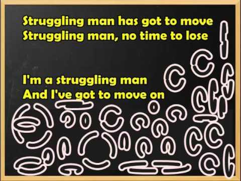 Struggling Man Jimmy Cliff / Lyrics