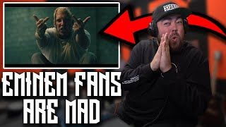 RAPPER REACTS to Tom MacDonald - Dear Slim (PRODUCED BY EMINEM)