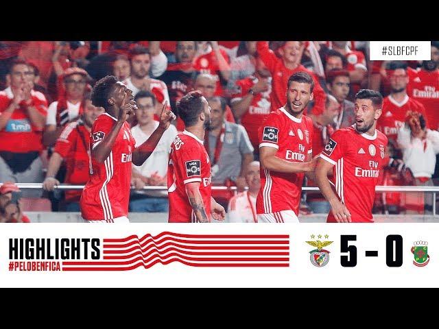 HIGHLIGHTS: SL Benfica 5-0 Paços de Ferreira