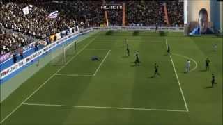 парень из Казахстана играет Fifa 14