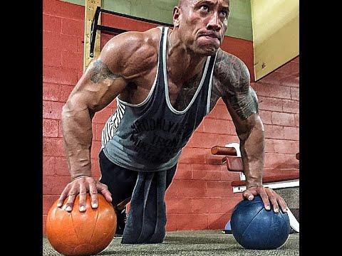 "Dwayne ""The Rock"" Johnson Workout/Motivation/Fan Meetups Compilation(2015)"
