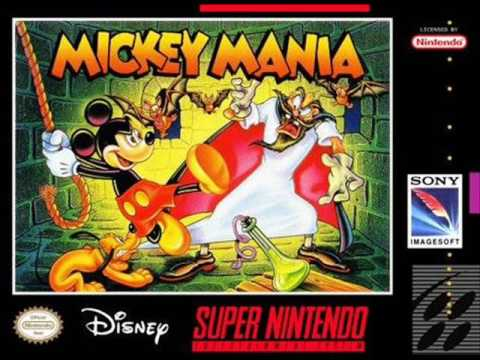 Mickey Mania - The Timeless Adventures of Mickey Mouse SNES - SOUNDTRACK -  YouTube