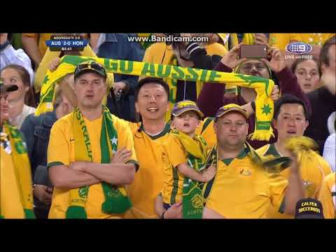 2017 Wold Cup qualifier The Socceroos Vs Honduras 3:1 highlight goal 3